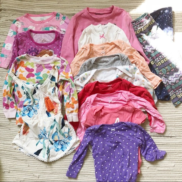 7f2b9465c8c Carter s Other - Baby girl bundle  lot of clothes 12mo